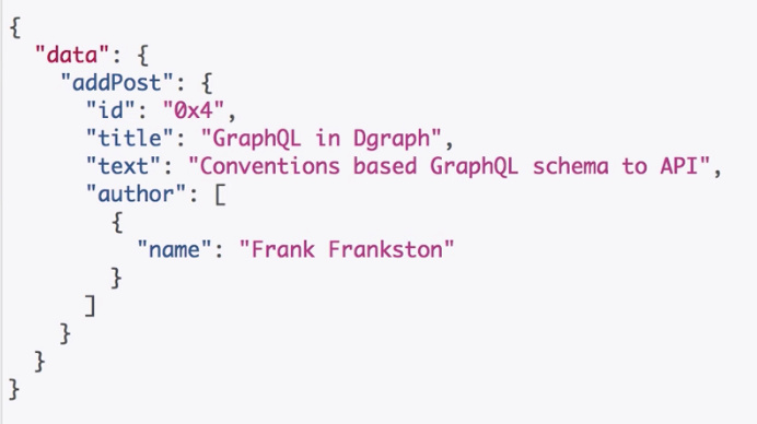 GraphSchema : A tool to spin up a GraphQL API with a Dgraph